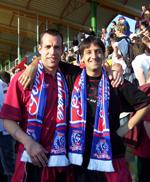 Od lewej - Carsten Nulle i Iwajło Stoimenow (fot. TomeKSG)