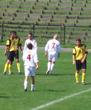 Zaborze Zabrze - Górnik II 1:5 - w białych koszulkach piłkarze naszego klubu (fot. Hania)